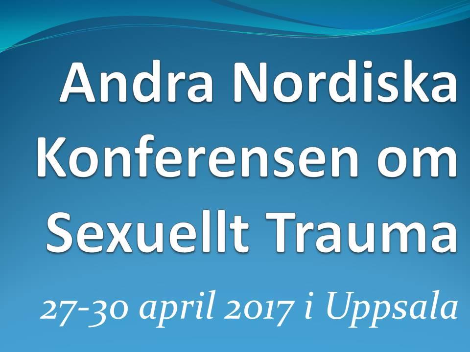 Andra Nordiska Konferensen om Sexuellt Trauma